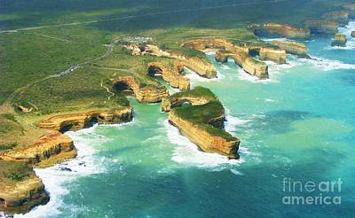 Photograph - Mutton Bird Island And Coastline by Michele Penner