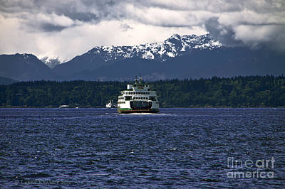 Photograph - Mv Kaleetan Ferry by Larry Keahey