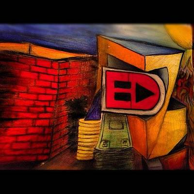 Expression Wall Art - Photograph - #my #art #drawing #abstract  #colors by Eric Dryer