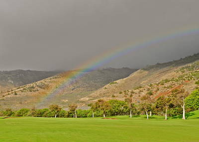 Photograph - My Ball Must Be At The End Of The Rainbow by Kirsten Giving