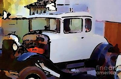 Photograph - My Brother's Hot Rod by Nancy Greenland