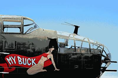 Photograph - My Buck by Fraida Gutovich