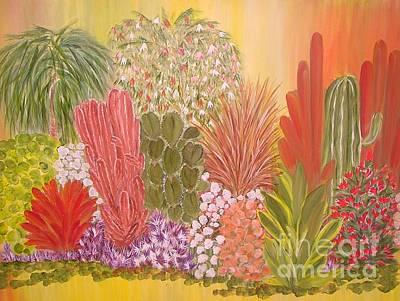 My Cactus Garden Art Print
