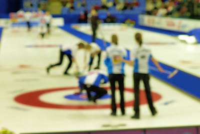 My Curling Dream Original by Lawrence Christopher
