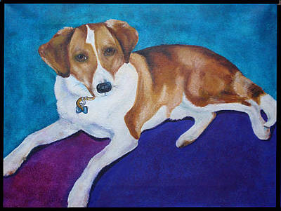 Painting - My Diego by Karen Camden Welsh