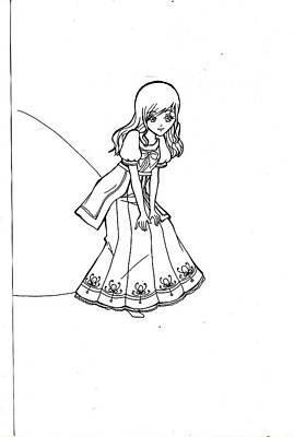 My Drawing 5 Print by Miftahur Rizqiyah