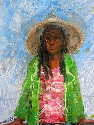 Painting - My Friend The Vendor by Rhonda Bristol