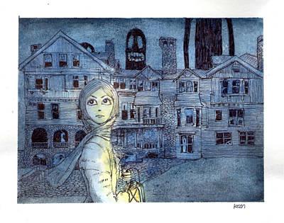 My Future Lies Within This Place Art Print by Katchakul Kaewkate