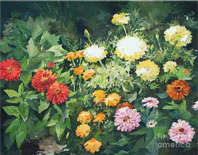 Painting - My Garden by Natalia Eremeyeva Duarte