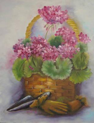 My Garden Prize Art Print by Bootsie Herder