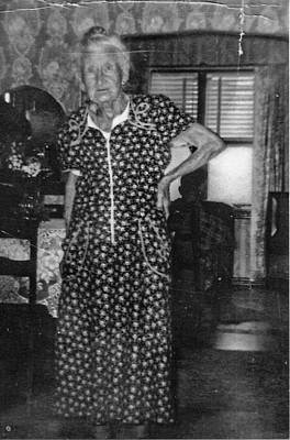 Photograph - My Great Grandmother by Thomas J Norbeck