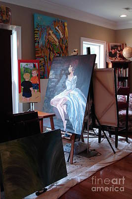 Photograph - My Home Studio by Lisa Kramer