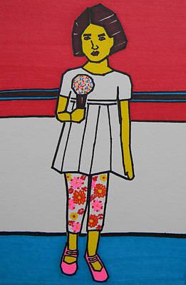Toronto Artist Drawing - My Ice Cream  by Marwan George Khoury