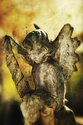 Art Print featuring the digital art My Little Angel 02 by Kevin Chippindall