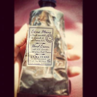 Lavender Photograph - My Lovely Hand Cream #lavender by Amaal Alotaibi