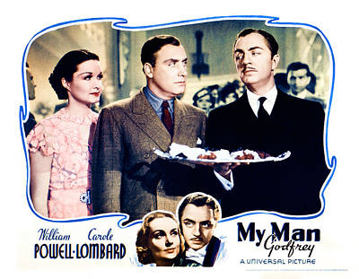 My Man Godfrey, Center Gail Patrick Art Print