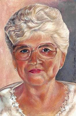 Drawing - My Mom by Melissa J Szymanski