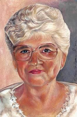 Drawing - My Mom by Melissa J Szymanski