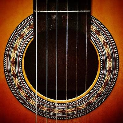 Classical Photograph - My Old #classical #guitar by Rob Beasley