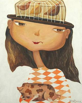 My Pets Art Print by Yelena Revis