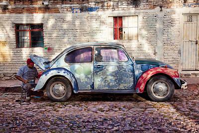 Car Repairs Photograph - My Ride by John Wong