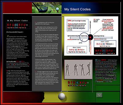 Digital Art - My Silent Codes P12 by Glenn Bautista