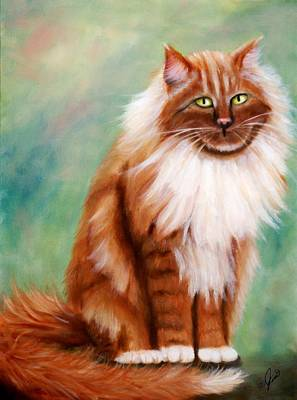 Painting - My Simba by Joni McPherson