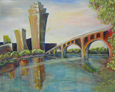 Painting - My Sister's Minneapolis by Jessica J Murray