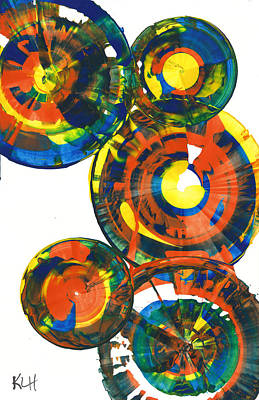 My Spheres Show Happiness  864.121811 Art Print by Kris Haas