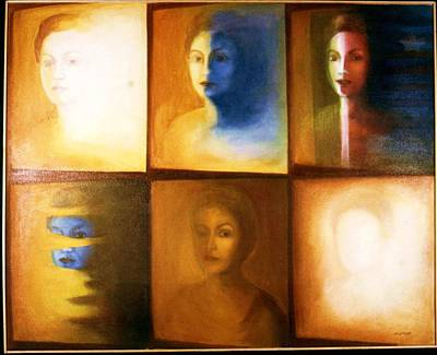 Painting - My Stages by Clotilde Espinosa