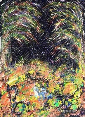 Depression Mixed Media - My Swamp by Alys Caviness-Gober