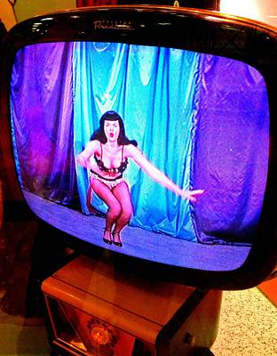 Photograph - My Vegas Caesars 23 Betty Page by Randall Weidner