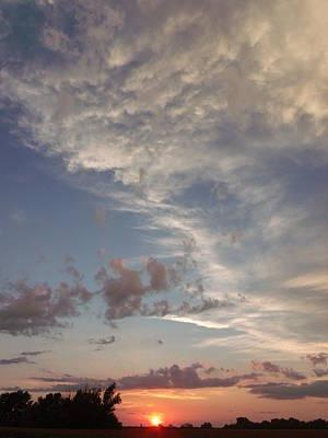 My Vertical Sunset Original
