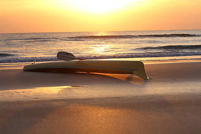 Photograph - My Yellow Kayak by Jose Rodriguez