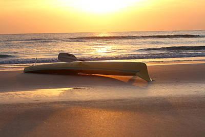 Photograph - My Yellow Kayak by Jose Rodriguez