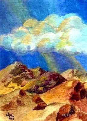 Painting - Majesty by Jose Breaux