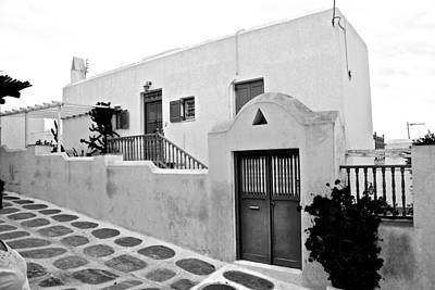 Photograph - Mykonos Home by Eric Tressler