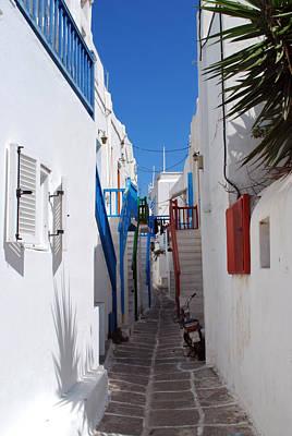 Mykonos Town Street Original
