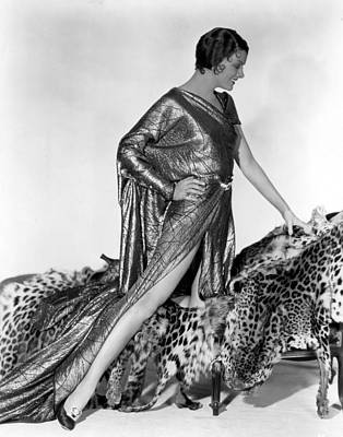 Loy Photograph - Myrna Loy, Fox, 1931 by Everett