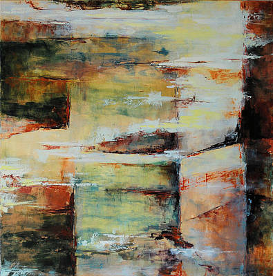 Abstrac Painting - Mystere by Francoise Dugourd-Caput