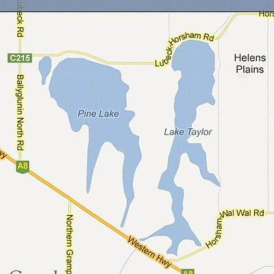Nature Seekers Wall Art - Photograph - Mysterious Alien Shape Lake.. Looks by Seeker Seeker