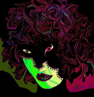 Mysterious Masquerade Art Print by Natalie Holland