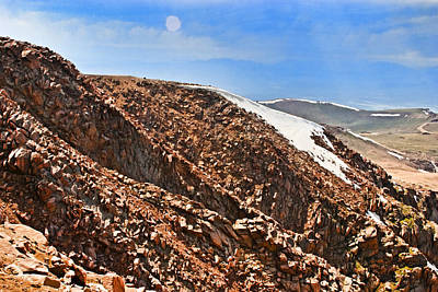 Rock Photograph - Mysterious Orb Over Pikes Peak by Gregory Scott