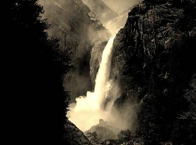 Photograph - Mystery Falls by Ellen Heaverlo