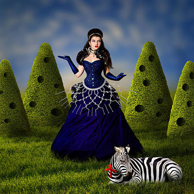 Beautiful Dreams Digital Art - Mystery Garden by Ausra Kel
