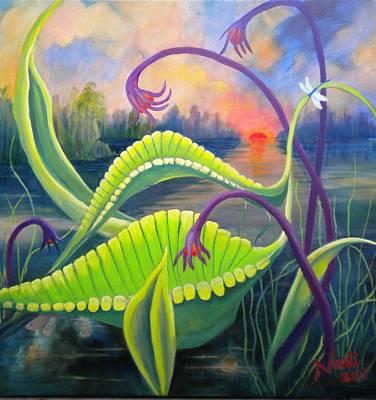 Painting - Mystery Species by Renate Nadi Wesley