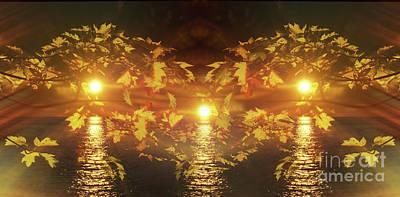 Alienation Digital Art - Mystic Glow by Bruno Santoro