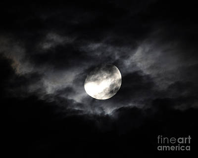 Waxing Gibbous Photograph - Mystic Moon by Al Powell Photography USA