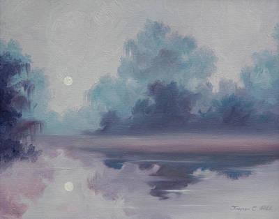 Mystic Moonlight Art Print by James Christopher Hill