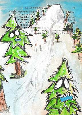 Mystic Mountain Print by Jera Sky
